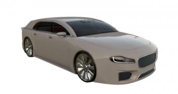 Promotion Car 3D model