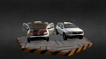 Renault Duster 3D model