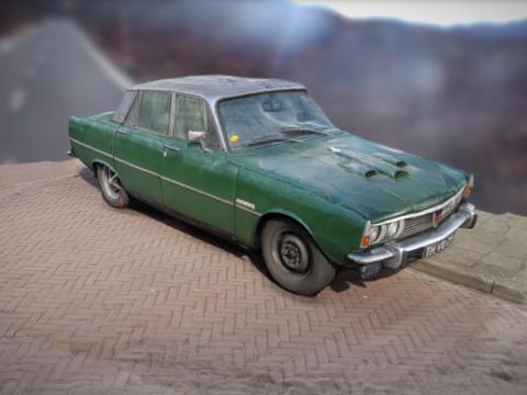 Rover P6 3500 3D model