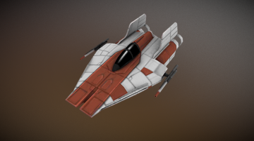 SWGOH Ship Awing 3D model