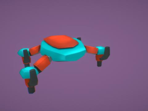 SciDi Drone 3D model