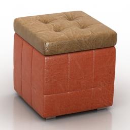 Seat berry Pushe 3d model