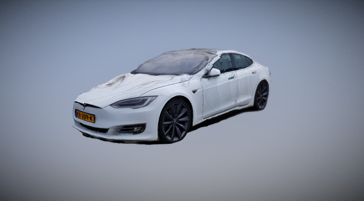 TESLA MODEL S 90D ALL-WHEEL DRIVE 3D model