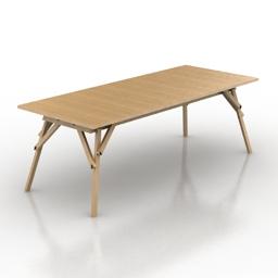 Table Atelier 3d model