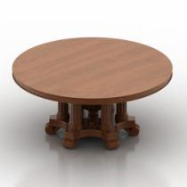 Table Fletcher Burwell-Taylo Scwartz 3d model