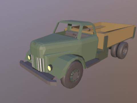 Ulzis-253 Low Poly 3D model