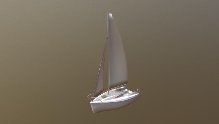 Viko 20 Sailboat 3D model