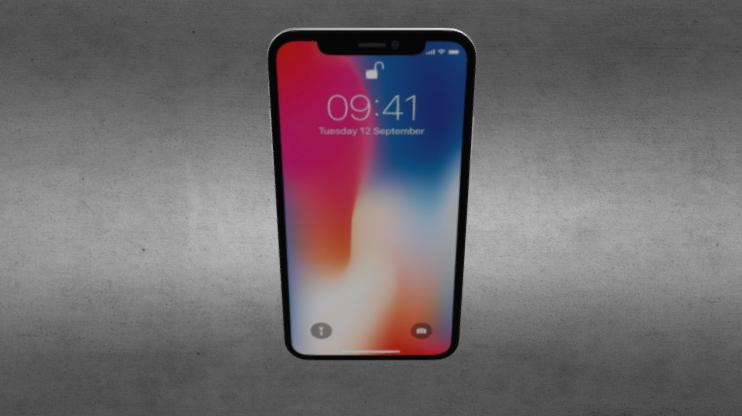 I Phone X 3D model