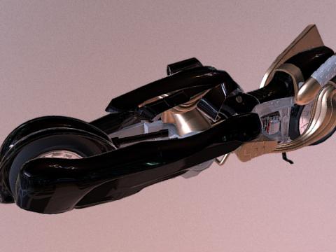 Motercycle Fenrir 3D model