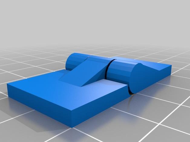 3D Basic Hinge model
