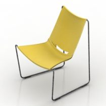 Chair Midj Apelle-AT 3d model