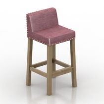 Chair stilton Pushe 3d model