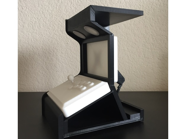Desktop Arcade 3D model
