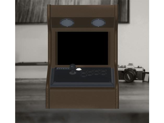 3D Desktop Arcade model