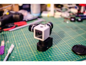 GoPro Session 4 Adapter for Yi Gimbal 3D model
