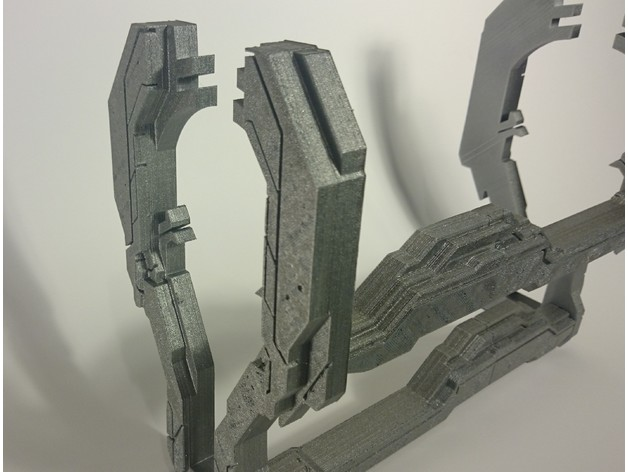 Halo them ipad holder | Free 3D models
