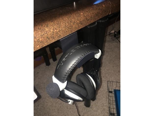 3D Headphone Hook model