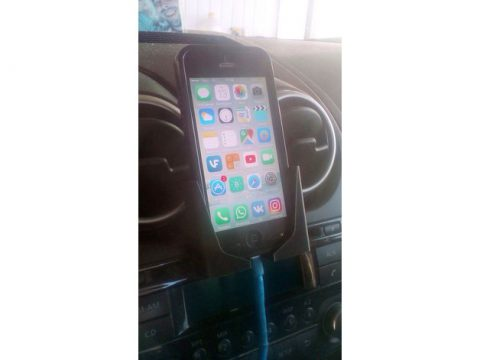 Holder for iPhone 5 with case 3D model