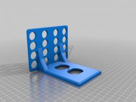 Larger Duplex Outlet Shelf 3D model