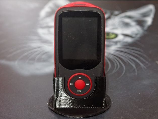 3D MP3 Player Stand model