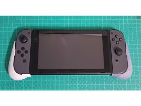 Nintendo Switch portable mode grips 3D model