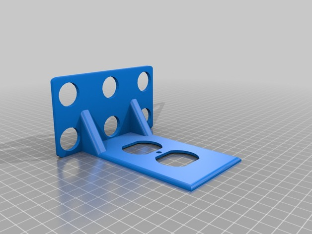 Outlet Shelf 3D model