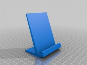 Phone support 3D model