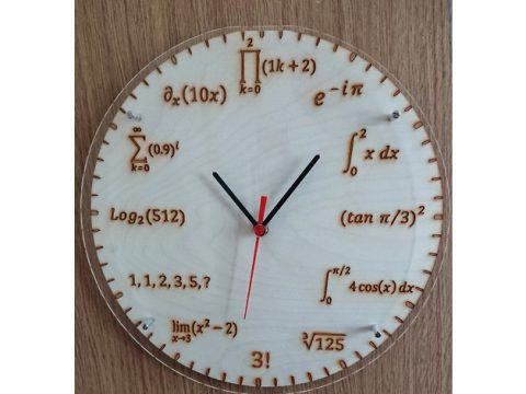 Physics clock 3D modle