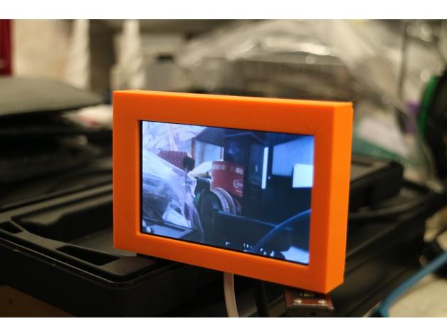 RPi Zero HyperPixel camera case 3D model