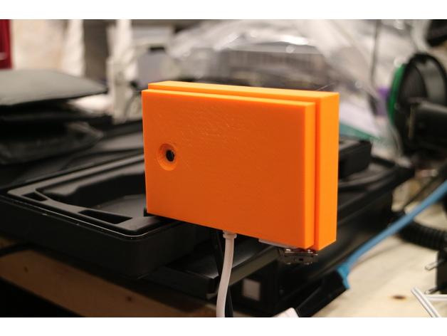 RPi Zero HyperPixel camera case