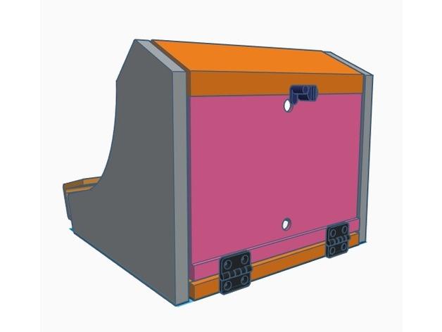 Retropie Bartop Arcade Cabinet Downloadfree3dcom