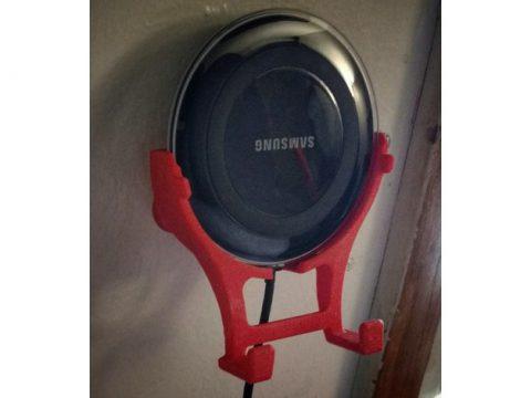 Samsung wireless charger wallmount 3D model