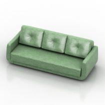 Sofa lima pushe 3d model
