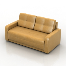 Sofa ostin Pushe 3d model