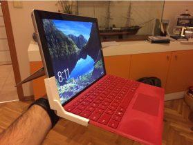Surface Pro laptop keyboard holder 3D model