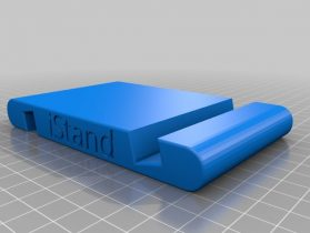 Phone and Tablet double stand 3D model
