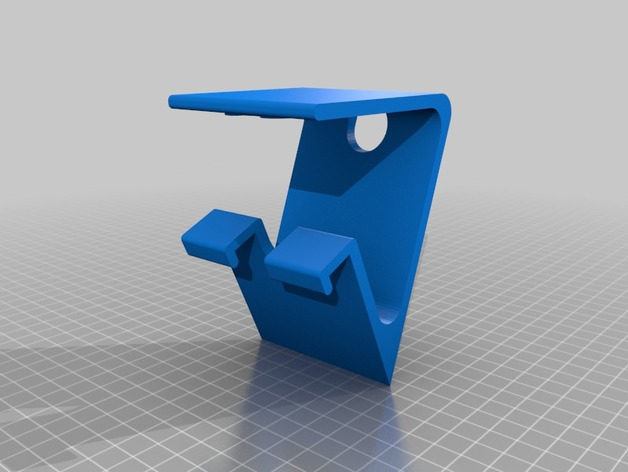 Totoro Phone Stand 3D model