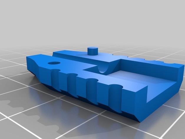 3D USB Apple Strain Relief model