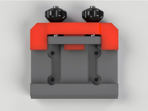 3D Arca Swiss camera plate clamp model