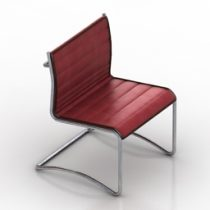 Chair Meeting 3d model