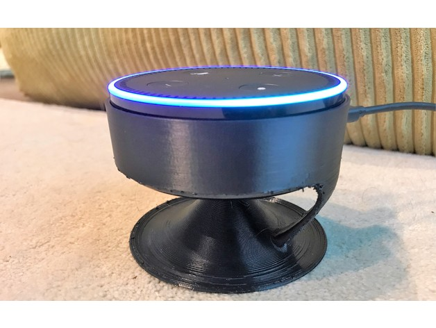 Floating echo dot Acoustic stand 3D model