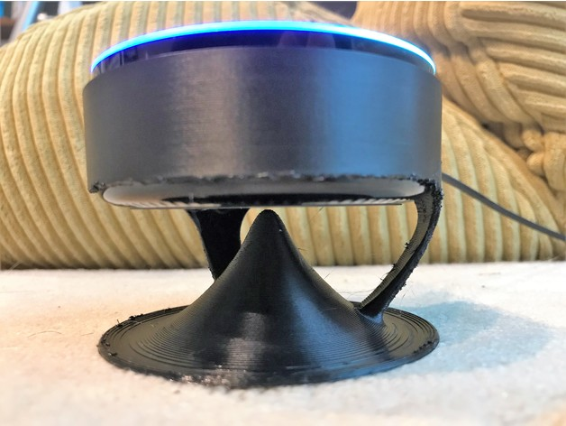 3D Floating echo dot Acoustic stand model