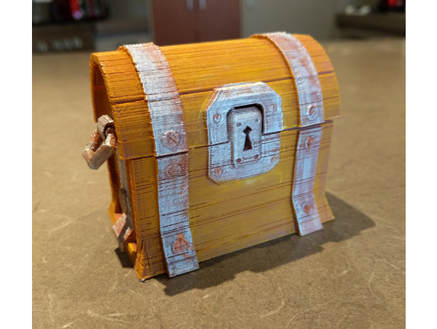 Fortnite Chest 3D model