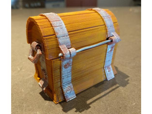 3D Fortnite Chest model