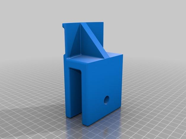 3D Headset bracket model