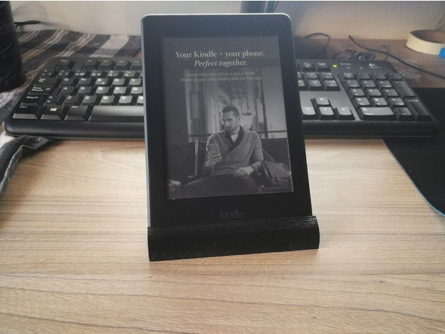Kindle stand 3D model