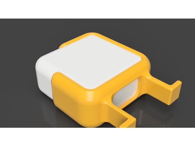 Macbook 12 charger cable holder 3D model