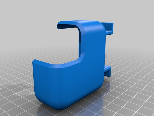 3D Macbook 12 charger cable holder model