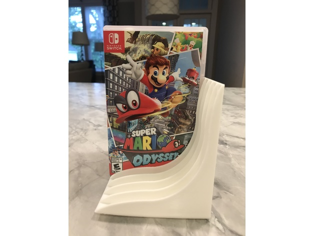 Nintendo Switch Game Box Holder 3D model