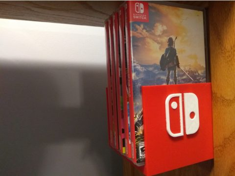 Nintendo Switch Game Holder 3D model